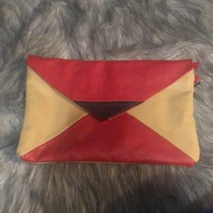 Charming Charlie color block clutch